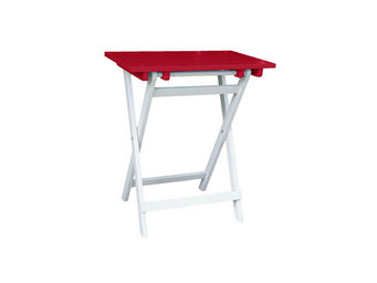 City Green - petite table pliante rectangulaire burano - 65 x 4 - Table De Jardin Pliante