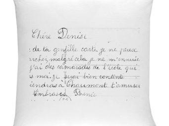 SERIE LIMITE LOUISE - la lettre - Taie D'oreiller