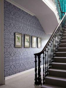 MATTHEW WILLIAMSON - grey orangery lace  - Papier Peint
