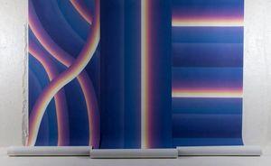 4Spaces - stripe tease - Papier Peint