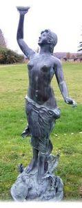 Esprit Antique - sculpture de jardin nymphe - Sculpture