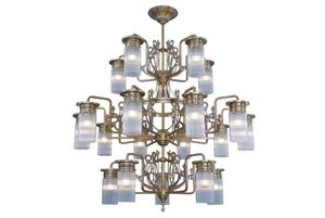 PATINAS - venice 20 armed chandelier - Lustre
