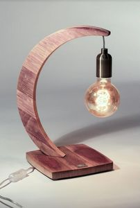 MEUBLES EN MERRAIN - brin de chêne - Lampe À Poser