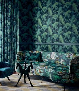 Cole & Son - palm jungle - Papier Peint