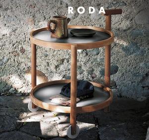 Roda - caddy - Table Roulante De Jardin
