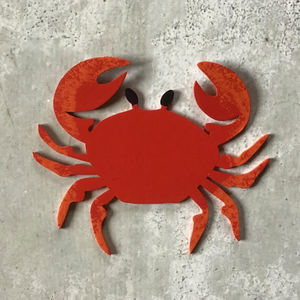 Generative-lab - le crabe rouge - Magnet Électroménager