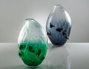 Venini - contrasto--_ - Vase À Fleurs