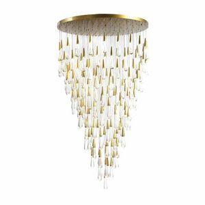 ALAN MIZRAHI LIGHTING - ak4002rd skinny rain round - Lustre