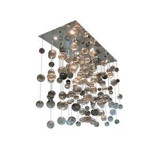 ALAN MIZRAHI LIGHTING - am1077 custom rectangle bubbles - Lustre