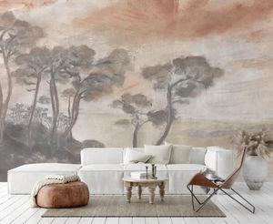 ISIDORE LEROY - les landes - Papier Peint