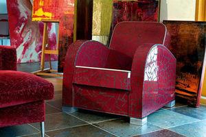 ManonLisa - fauteuil club bordeau manonlisa - Fauteuil Club