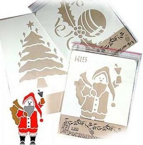 Creastore -  - Pochoirs De Noël