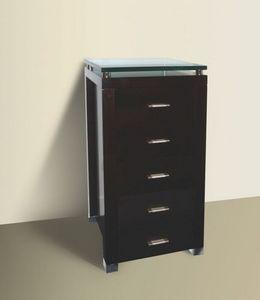 My Design -  - Demi Colonne De Rangement De Salle De Bains