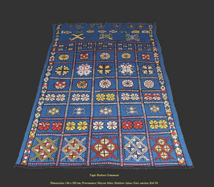 ATLAS KILIM BERBERE -  - Tapis Traditionnel