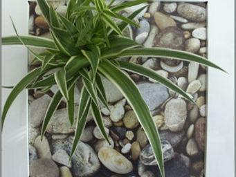LES JARDINS DE CHLOE - artist galets - Tableau Végétal