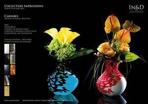 In&D - caraibes - Vase � Fleurs