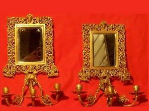 L'Atelier de la dorure - miroir - Applique