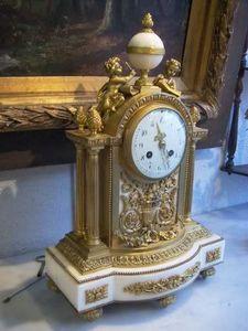 Antiquités Authier -  - Parure De Cheminée