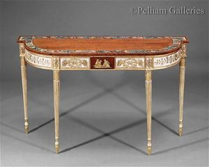 Pelham Galleries - London -  - Console Demi Lune