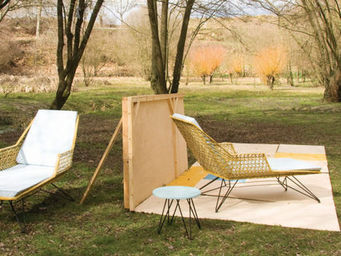 LOBSTER'S DAY -  - Chaise Longue De Jardin