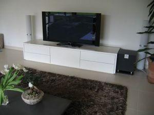 Ebénisterie Hackspill -  - Meuble Tv Hi Fi