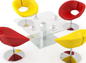 swanky design - adelphi coffee table - Table Basse Carrée