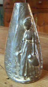 ANTIQUITES THUILLIER - vase bronze - Vase À Fleurs