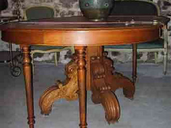 Abacadabra Antiquités - table - Table Bureau