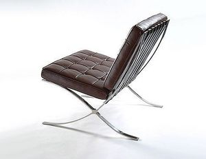 Abode Interiors - brown barcelona chair - Chaise