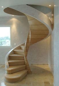 Biewesch - alsace - Escalier Hélicoïdal