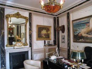 pique decor - faux marbres et dorures - Faux Marbre