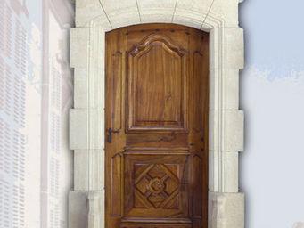 Portes Anciennes - la bastide - Porte D'entrée Pleine