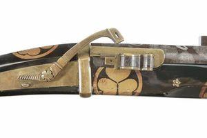 Peter Finer - a japanese carbine (bajou-zutsu), circa 1850 - Carabine Et Fusil