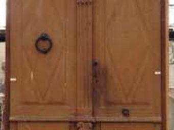 GALERIE MARC MAISON - double oak door - Porte Ancienne