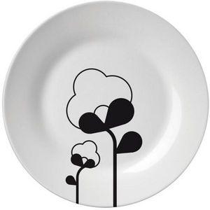 Decogalerie - assiette nature 19 cm - Assiette Plate