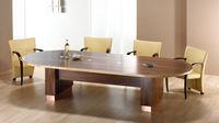 Act Furniture Manufacturers - nimbus natural walnut with maple edge - Table De Réunion