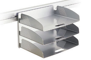Eurotek Office Furniture - 3 tier a4 landscape trays - Bac À Courrier
