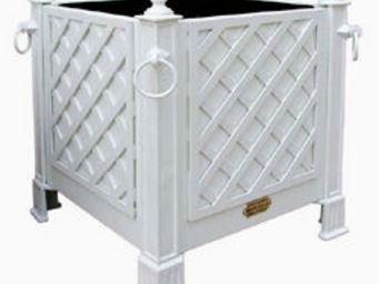 Jardinieres & Interieurs - blanc 4 treillages - Bac À Arbre
