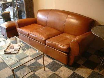 GHISLAIN ANTIQUES - fauteuils et canap�s clubs � dossier papillon - Canap� Club