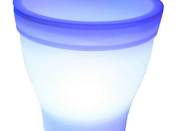 Blachere Illumination - pot lumineux led blanc - Pot Lumineux