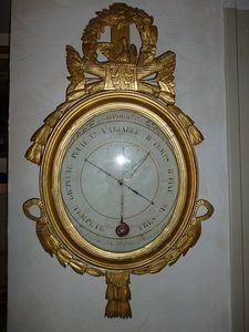 La Brocante de Steeve - baromètre-thermomètre louis xvi - Baromètre