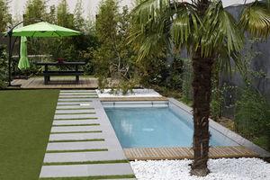 CARON PISCINES - mini-piscine - Piscine Paysagée