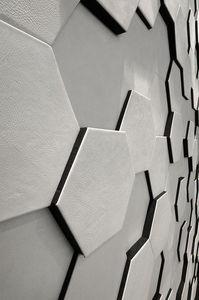 CUIR AU CARRÉ -  - Revêtement Mural