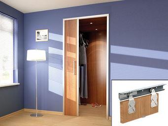 Wimove - ensemble saturn pour portes de placard - rail 1,8 - Motorisation Pour Porte D'intérieur