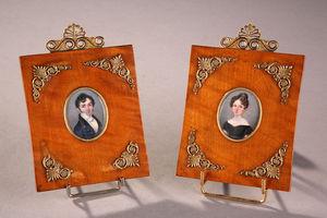 Galerie Atena -  - Portrait Miniature