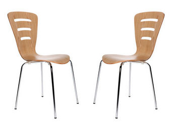Miliboo - lena chaise - Chaise Visiteur