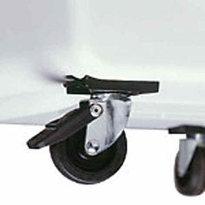 ZOLUX - set de 4 roulettes pour cage de transport - Roulette