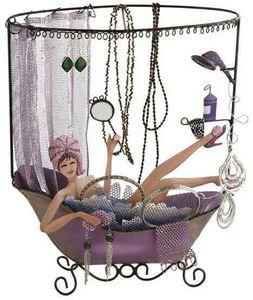 Balvi - porte bijoux bath girl en métal - Porte Bijoux