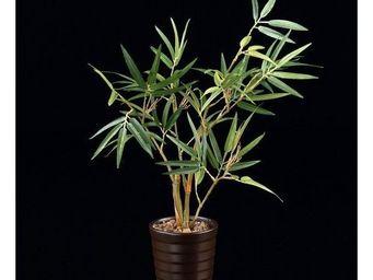 Deco Factory - mini bambou artificiel en pot fuji - Arbre Artificiel