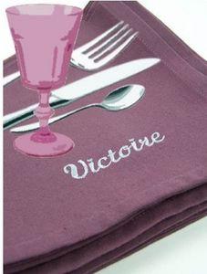 DES IDÉES POUR MAMAN -  - Serviette De Table